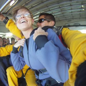First Time Skydiving