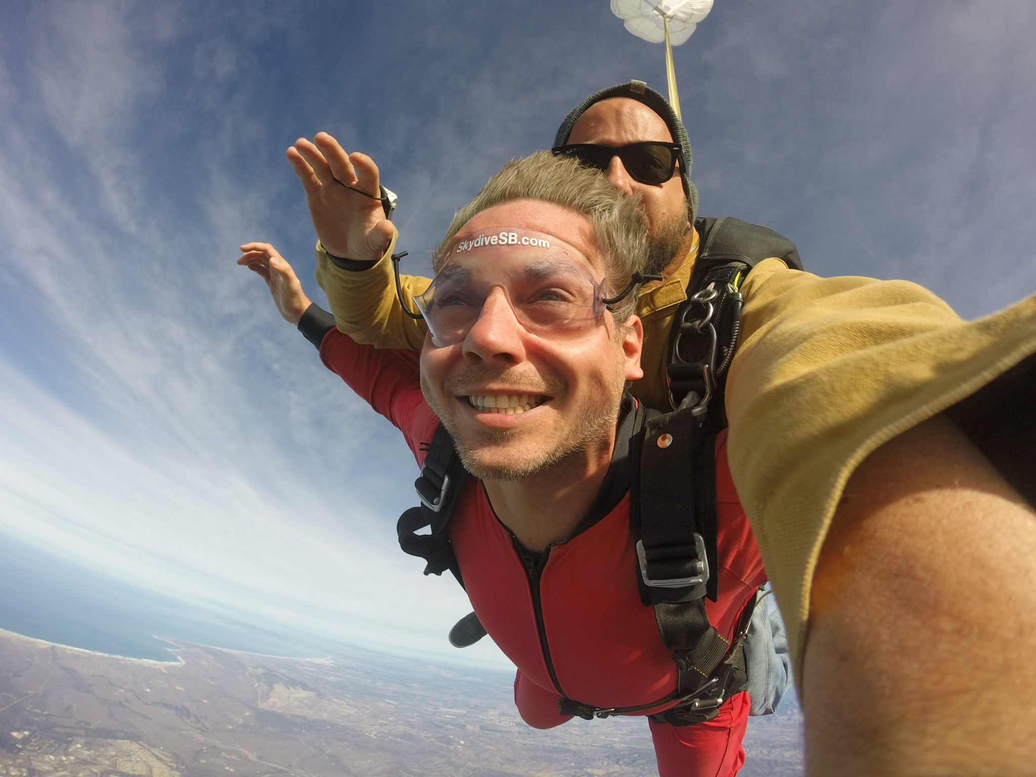 tandem skydiving at Skydive Santa Barbara